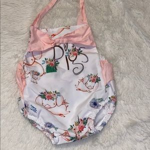 Pigs ruffle boutique outfit